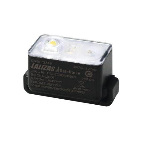"LALIZAS Lifejacket LED flashing light ""Safelite IV"" ON-OFF water activated, USCG, SOLAS/MED"